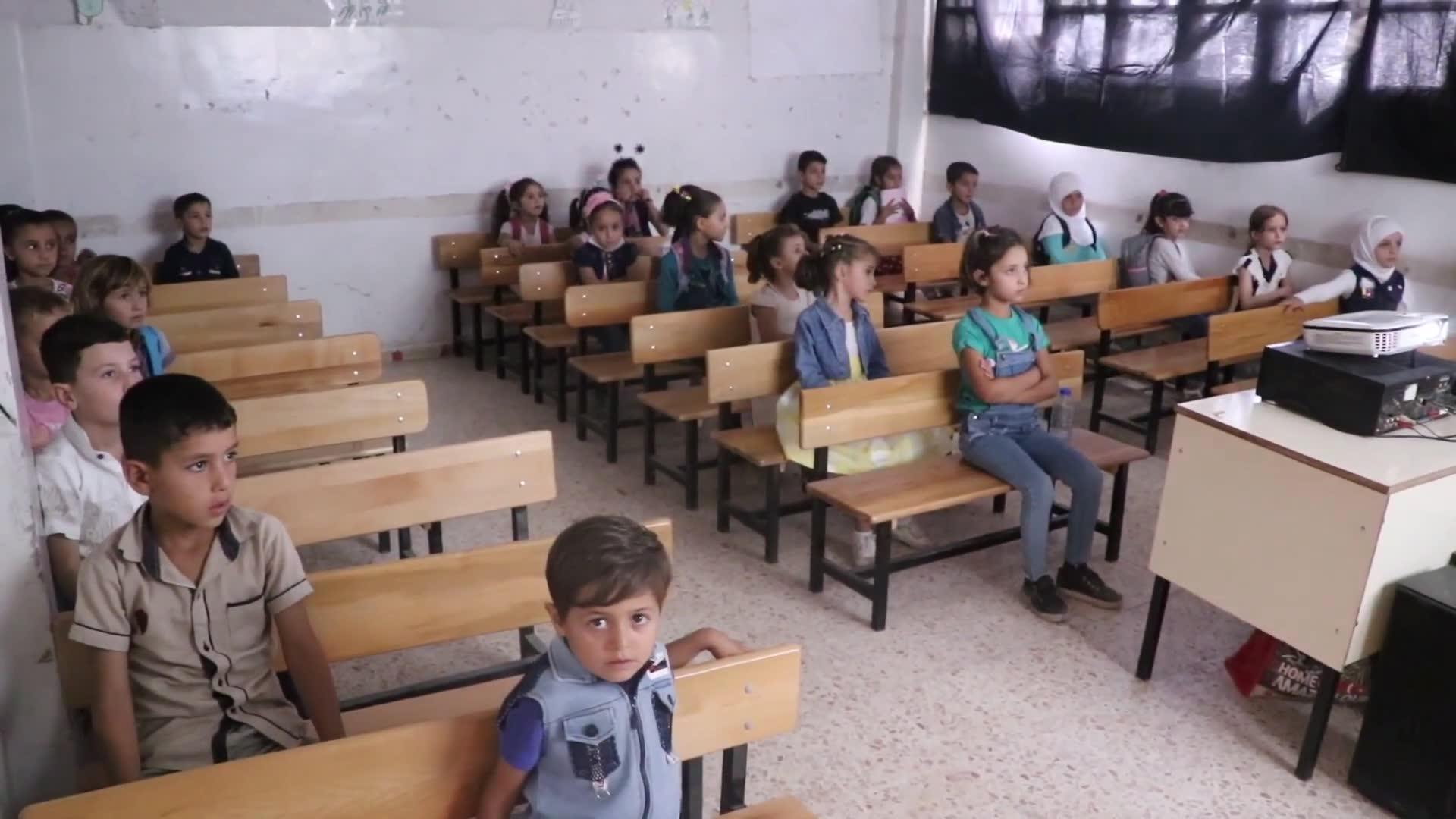 Telabyadlı Çocuklar Okulda Sin