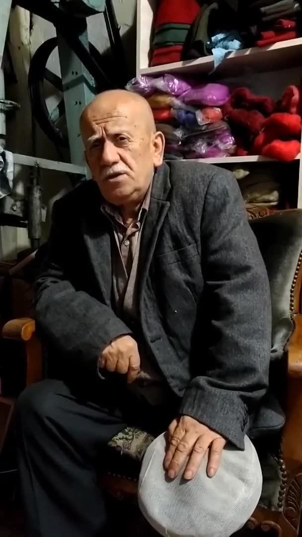 Keçe Ustası Ahmet Yaşar Kocata