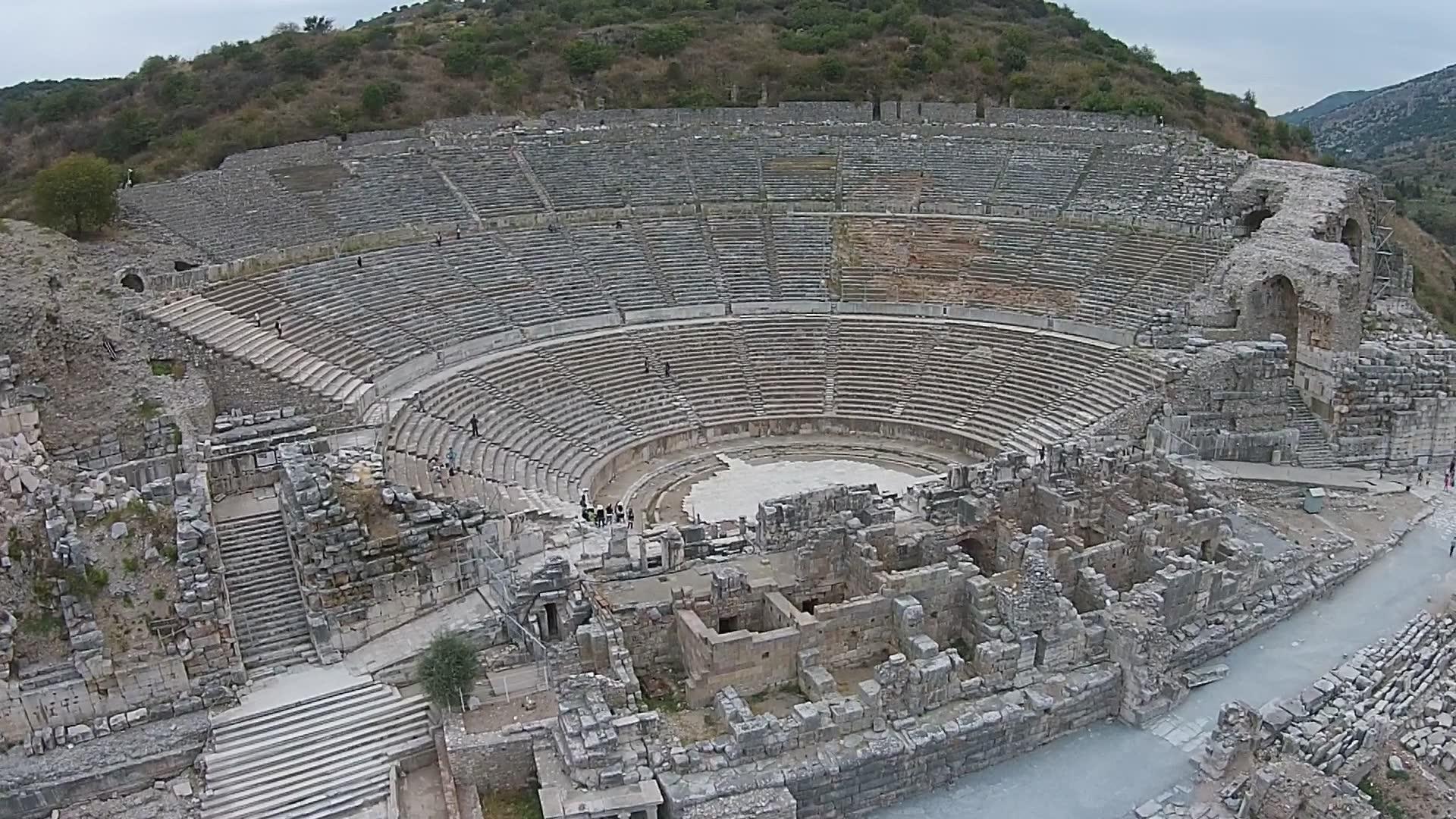 Efes Antik Kenti Büyük Tiyatro