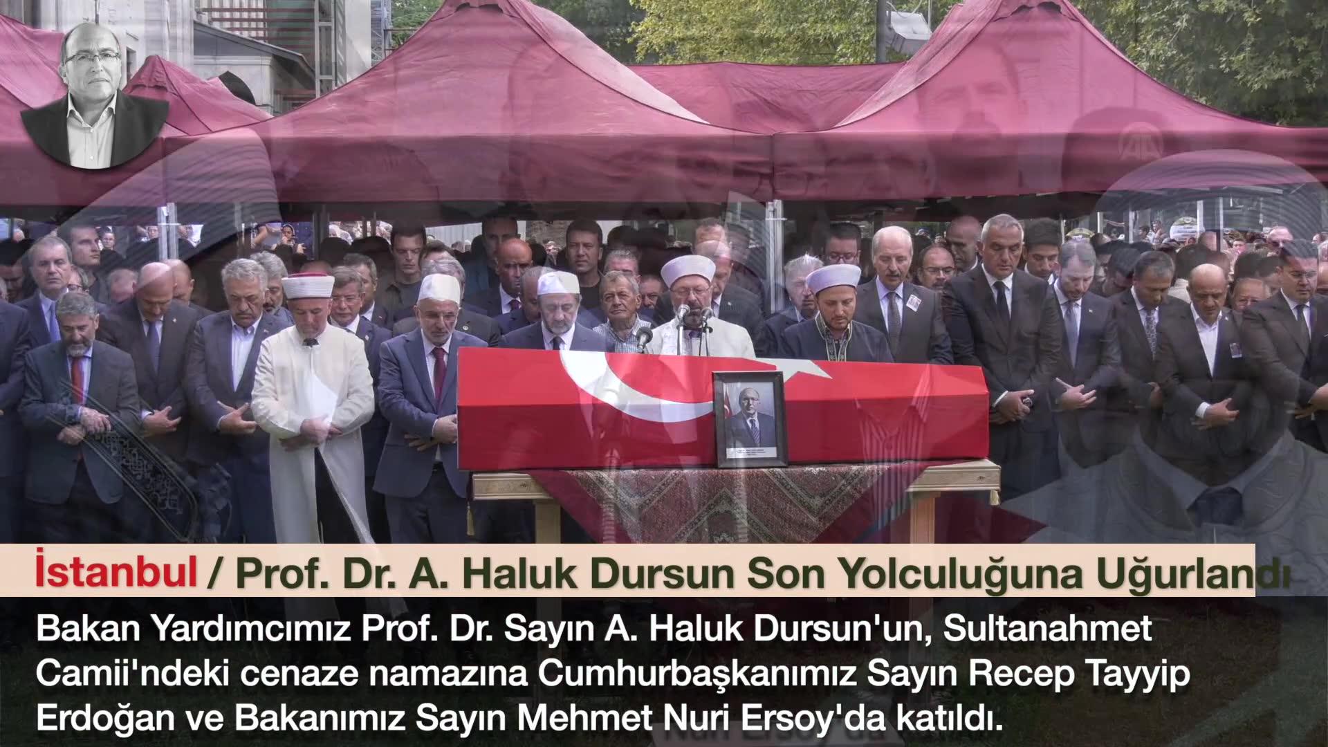 BAKAN YARDIMCISI PROF. DR. A.